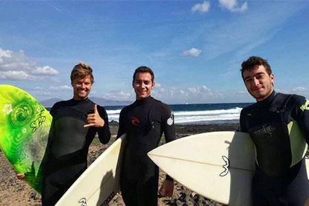Surf course fuerteventura Advanced