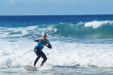 Surf course fuerteventura